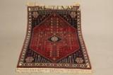 Håndknyttet tæppe, 105x160 cm.