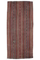 Persisk Jajim kelim, 355x168 cm.