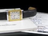 Jaeger LeCoultre Reverso - herrearmbåndsur, stål- guld