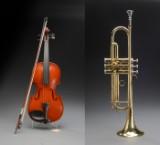 Violin og trompet mrk. Opus (2)