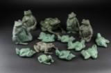 Skulpturer af bronze (14)