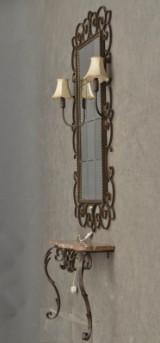 Spegel med konsollbord, 1960/70-tal (2)
