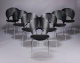 Nanna Ditzel. Trinidad dining chairs, model 3298 (7)