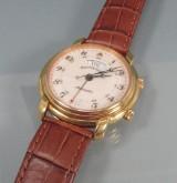 Maurice Lacroix Masterpiece Automatic armbåndsur med kalender og vækkeur