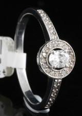18kt diamond approx. 0.28ct