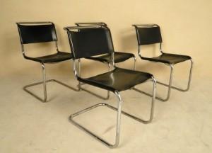 m bel mart stam freischwinger 39 s 33 39 f r thonet 4 de d sseldorf kappeler. Black Bedroom Furniture Sets. Home Design Ideas