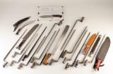 Samling bajonetter og knive (21)