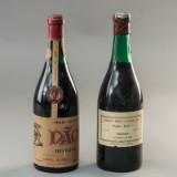 2 fl. portogisisk vin 1955 og 1960 (2)
