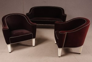 m bel josef hoffmann wittmann sofa und. Black Bedroom Furniture Sets. Home Design Ideas