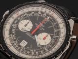 Breitling 'Navitimer'. Vintage oversize men's chronograph, steel, c. 1970