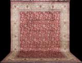 Carpet, figural Tabriz, signed Amir Khiz, Persia, 440 x 320