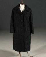 Vintage Pälskappa, persian, storlek 40/42