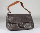 Chanel, väska, läder