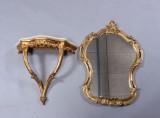 Konsolbord samt spejl (2)