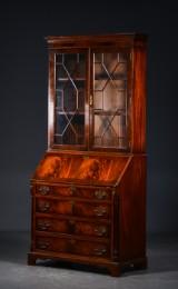 Chatol af mahogni, engelsk Georg III stil, 20./21. årh.