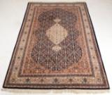 Indisk tæppe, 296x201 cm.