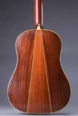 C. F. Martin & Co. Vintage acoustic Western guitar, model D-35S with lifetime warranty