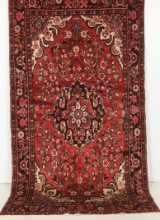 Handknuten äkta matta, Burchalow, 280x155 cm