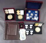 Euromedaljer og store medaljer m.v