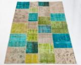 Tæppe, design 'Anatolian Patchwork Fresh', Tyrkiet, ca. 240 x 170 cm