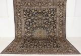 Persisk handknuten matta, Kashan 407x297