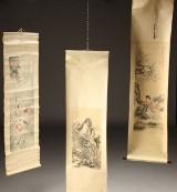 Kinesiske scrolls, 1900'tallet (3)