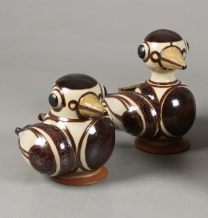 heerwagen keramik Karin og Erling Heerwagen. Fad samt fugle (3) | Lauritz.com heerwagen keramik