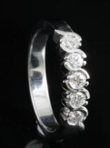18kt diamond ring approx. 0.43ct