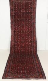 Persisk handknuten gallerimatta Hamedan mått 395x112
