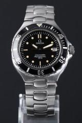 Omega Seamaster 'Pre-Bond', herrearmbåndsur af stål