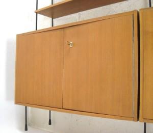 omnia regalsystem leiterregal der 1960 70er jahre ca. Black Bedroom Furniture Sets. Home Design Ideas