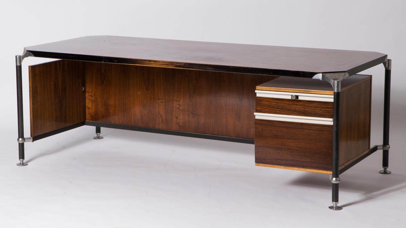 Schreibtisch, Ico Parisi Für Mim Roma