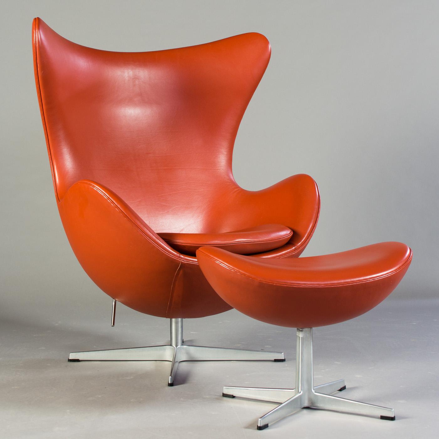 Auktionstipset Arne Jacobsen Lounge Sessel Modell Egg Chair