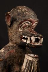Stor rituell skulptur 'Gbekre', Baule-folket, Elfenbenkusten