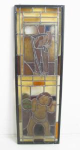 Großes Fensterbild mit Allegorie des Lebens und Todes