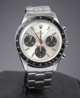 Rolex chronograph herrearmbåndsur af stål
