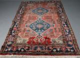 Orientalisk matta, ull på bomull, 152x254 cm