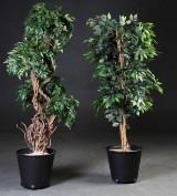 To kunstige planter (2)