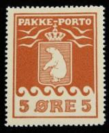 Grønland, P.P. Afa:2 postfriskt luxuseksemplar. Att.:Lasse Nielsen.