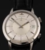 Jaeger-leCoultre 'Memovox'. Vintage men's watch, steel, with alarm function, c. 1960