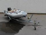 SunMarine gummibåd m/ Variant Trailer samt Tohatsu motor (3)