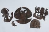 Konvolut Blechfiguren mit unterschiedlichen Motiven (5)