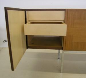 m bel artur traulsen wk m bel sideboard palisander um 1952 de hamburg gro e. Black Bedroom Furniture Sets. Home Design Ideas