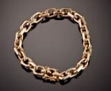 Anchor bracelet, 56.2 grams