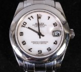 Rolex, Oyster Perpetual Lady-Datejust, Pearlmaster, ladies watch, 18K white gold