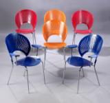 Nanna Ditzel. Sæt på seks 'Trinidad' stole, model 3297 og 3298. (6)