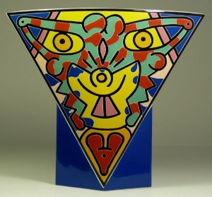 lot 2101544 keith haring keith haring 1958 1990 vase. Black Bedroom Furniture Sets. Home Design Ideas