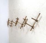 Robert Haussmann, modular wall lamp model Lichtstruktur for Swiss Lamp