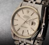 Rolex Oyster Perpetual Datejust herrearmbåndsur i stål  Denne vare er sat til omsalg under nyt varenummer 3290886