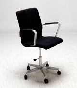 Arne Jacobsen, skrivbordsstol Oxford, model 3291